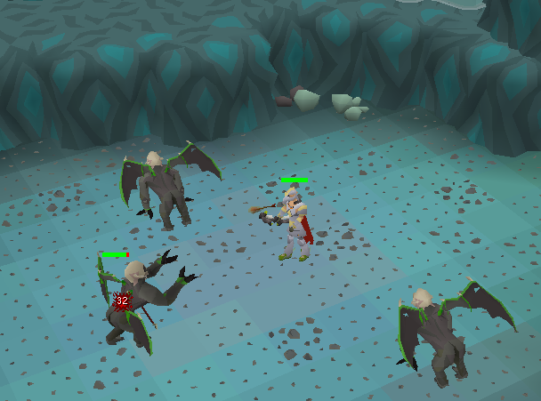 Demonic gorillas